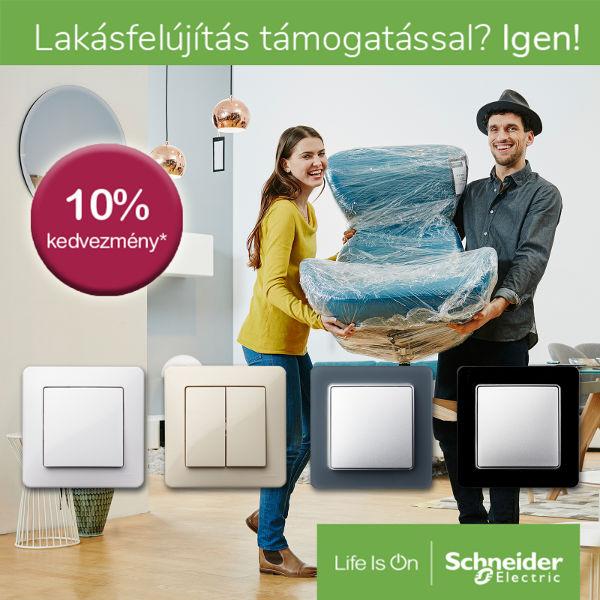 Schneider lakásfelújítás