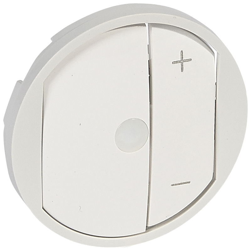 Céliane távvezérelhető fényerőszabályzó burkolat, fehér