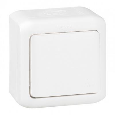 Forix IP44 falon kívüli egypolusú kapcsoló 10 AX - 250 V~ fehér