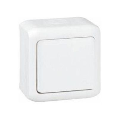 Forix IP44 falon kívüli váltókapcsoló 10 AX - 250 V~ fehér