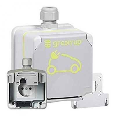 Green up Access 2P+F 16 A EV műanyag falonkívüli aljzat