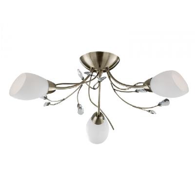 Gardenia mennyezeti lámpa antik 3*40W