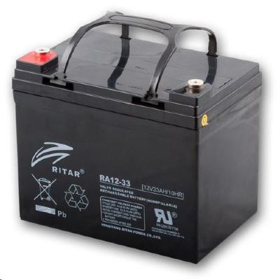 Ritar RA12-33-F11 12V 33Ah zárt ólomakkumulátor