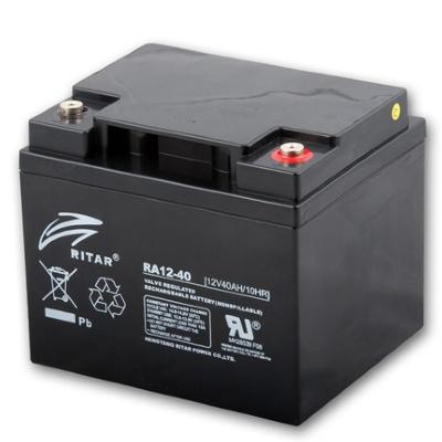 Ritar RA12-40-F11 12V 40Ah zárt ólomakkumulátor