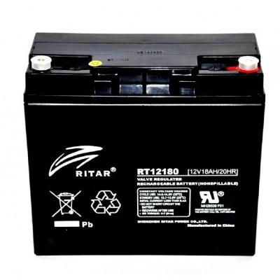 Ritar RT12180-F3 12V 18Ah zárt ólomakkumulátor Vagyonvédelem