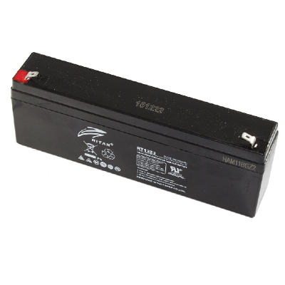 Ritar RT1223-F1 12V 2,3Ah zárt ólomakkumulátor Riasztó akkumulátor