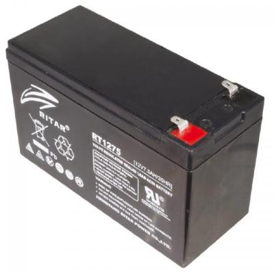 Ritar RT1275-F1 12V 7,5Ah zárt ólomakkumulátor Riasztó akkumulátor