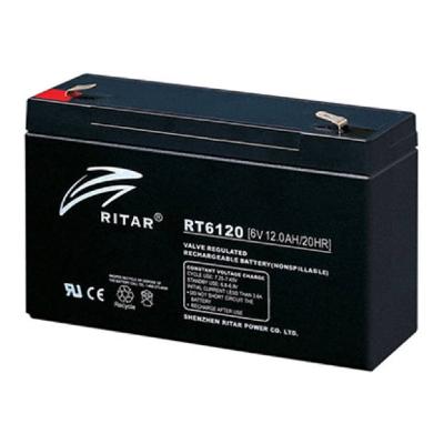 Ritar RT6120-F1 6V 12Ah zárt ólomakkumulátor ELEKTROMOS JÁRMŰ,AKKUS LP.,PARKOLÓÓRA Riasztó akkumulátor