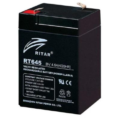 Ritar RT645-F1 6V 4,5Ah zárt ólomakkumulátor
