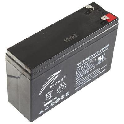 Ritar HR12-20BW-F2 12V 5Ah nagy áramú zárt ólomakkumulátor (téglatest)