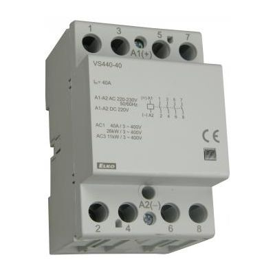 KONTAKTOR VS-440-04 230V MODULÁRIS