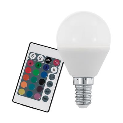 LED E14 1X4W 3000K RGB/FH @