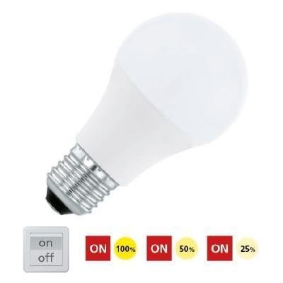 LED E27 A60 1x10W 3000K fényerŐs