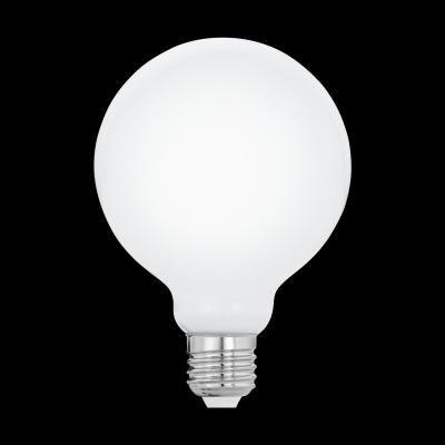 LED fényforrás E27 G95 1x8W 806Lm