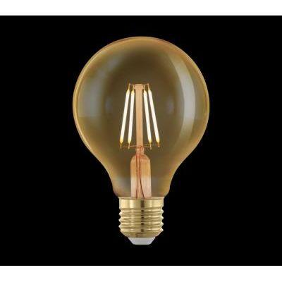 LED fényforrás E27 G95 4W 1700K @