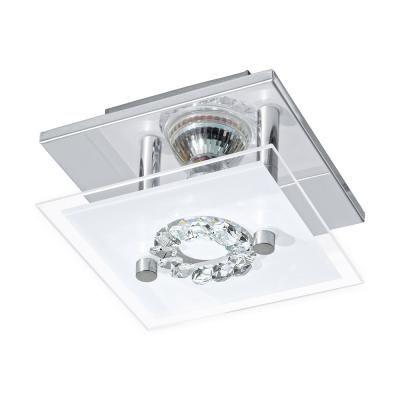 RONCATO LED-es fali GU10 1x3W króm