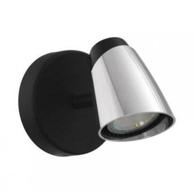 MONCALVIO LED fali GU10 1x5W fek/kr
