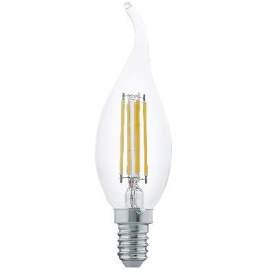 LED-es fényforrás E14 láng 4W 2700K