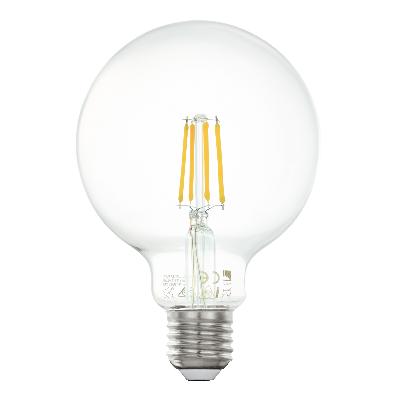LED-es fényforrás E27 G95 4W 2700K