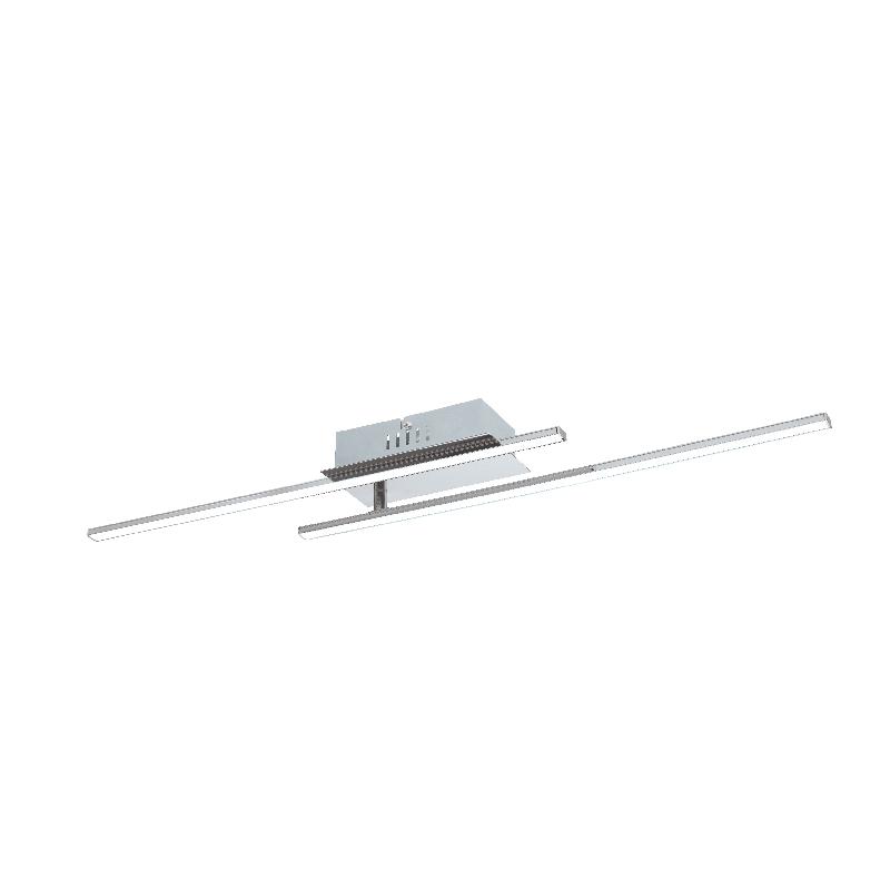 PARRI LED menny 2x6W 1300Lm króm/fh