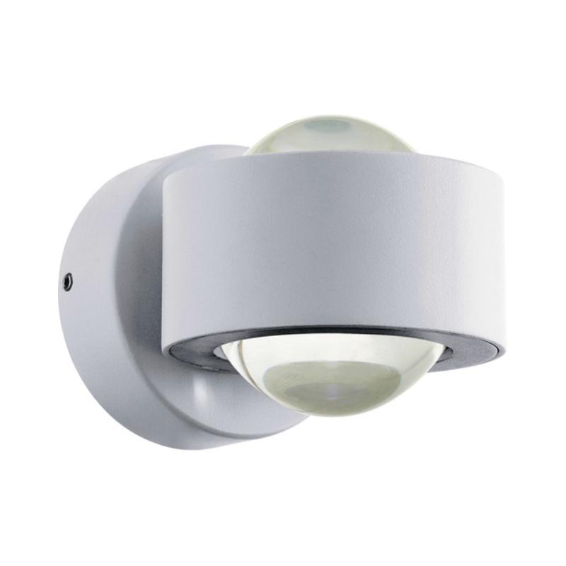TREVIOLO LED kült fali 2x3W IP44 feh