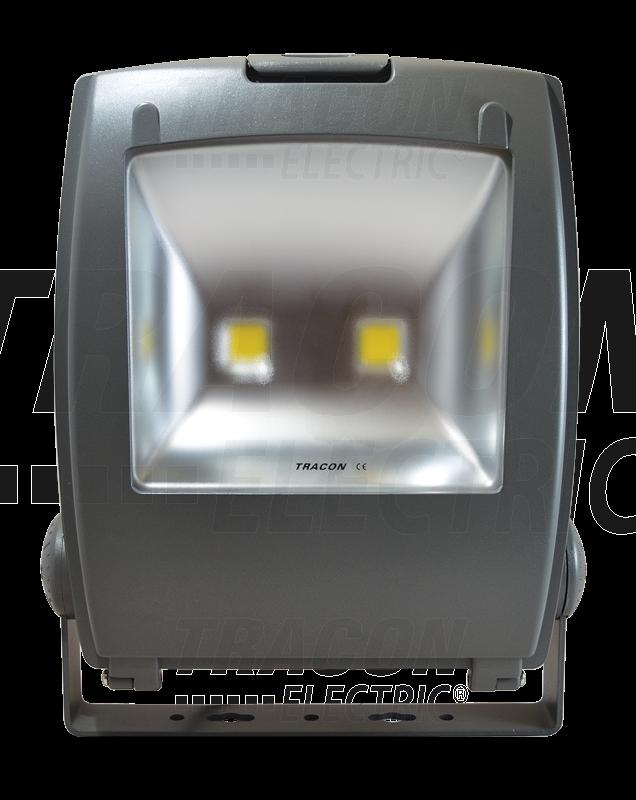 LED FÉNYVETO 100W FEKETE 100-240V AC
