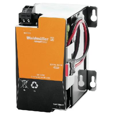 Weidmüller akkumulátor modul, használható: (DC szünetmentes energiaellátó rendszer)-hez