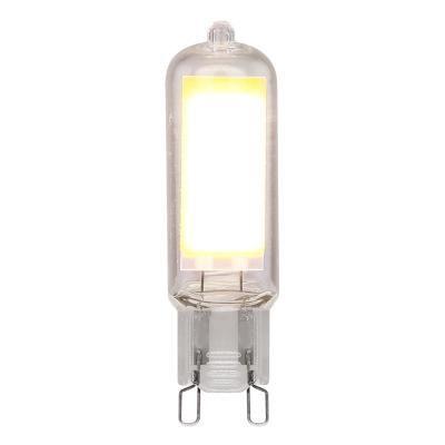 Fényforrás LED, üveg átlátszó. O:16, H:61, inkl.1xG9 LED 4W 230V, 400lm, 3000K