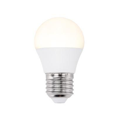 Fényforrás LED, Műanyag opál. fényerő-szabályozható. O:45, H:78, inkl. 1xE27 ILLU 5W 230V, 400lm,  4000K