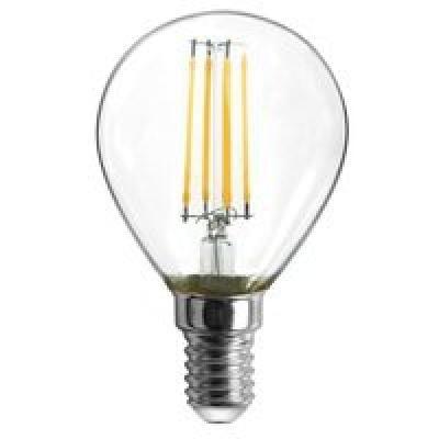 Fényforrás LED,D:45, H:80, inkl. 2xE14 LED 4W 230V, 400lm, 3000K, 2db/blister