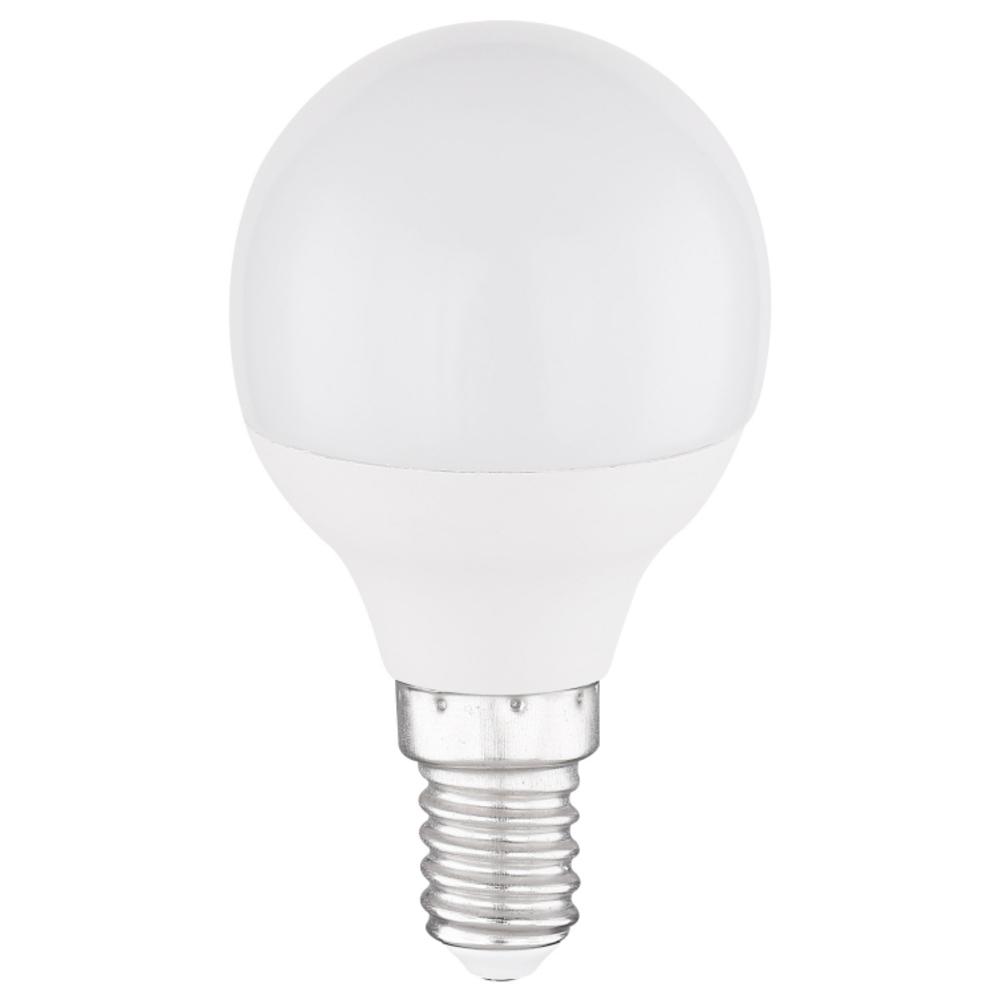 LED Fényforrás opál műanyag búrával. ILLU  O:45, H:81, inkl. 1xE14 ILLU 4W 230V,  300lm, 3000K