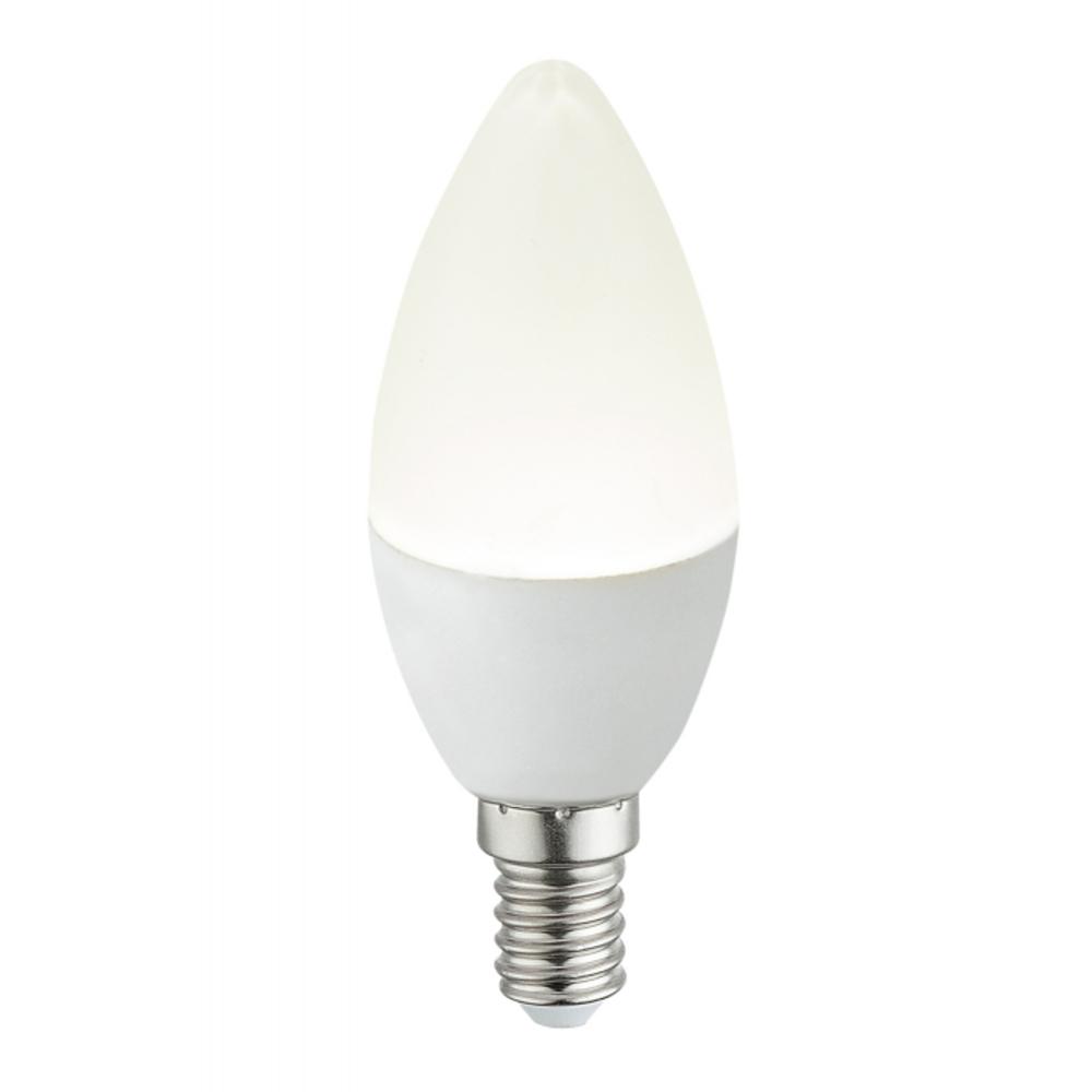 Fényforrás LED,  D:37, H:101, inkl. 1xE14 LED 4W 230V, 400lm, 4000K