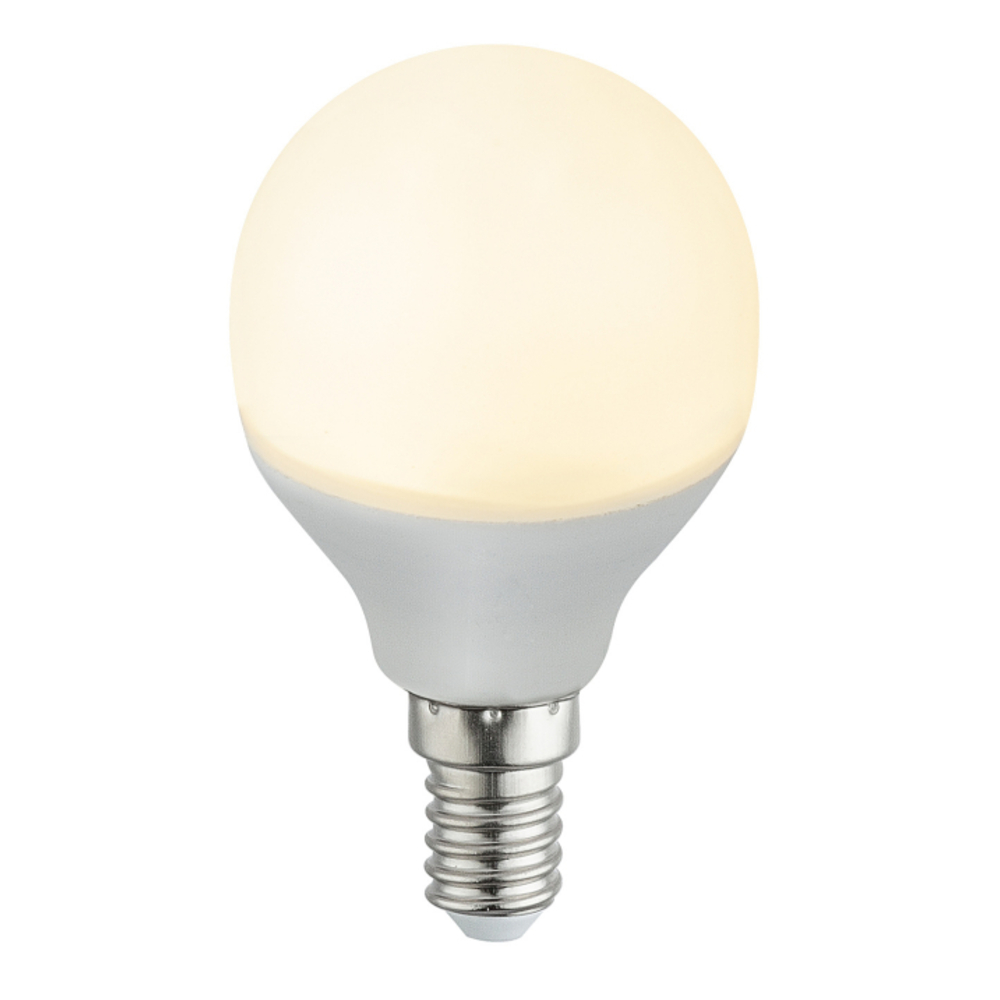 Fényforrás LED,  D:45, H:79, inkl. 1xE14 LED 5W 230V, 400lm, 3000K
