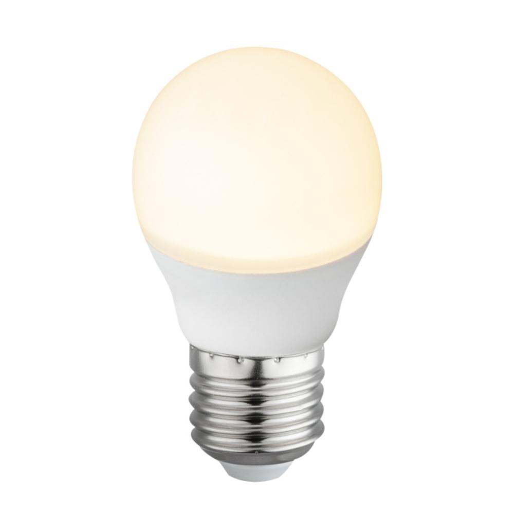 Fényforrás LED,   D:45, H:77, inkl. 1xE27 LED 6W 230V, 495lm, 3000K