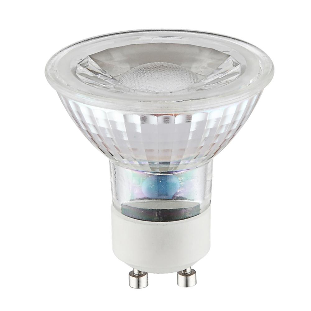 Fényforrás LED,  D:50, inkl. 1xGU10 LED 5W 230V, 420lm, 3000K
