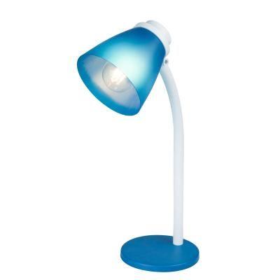 JULIUS Asztali lámpa műanyag kék