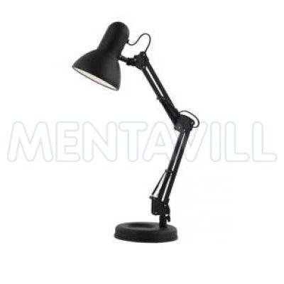 Asztali lámpa fém, fekete LxH:240x590, exkl. 1xE27 40W 230V