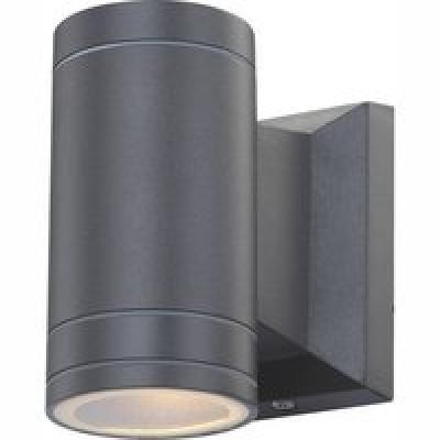 Kültéri aluminium ,üveg , IP44, BxH:65x128, AL:108, inkl. 1xGU10 LED 5W 230V, 300lm, 3000K