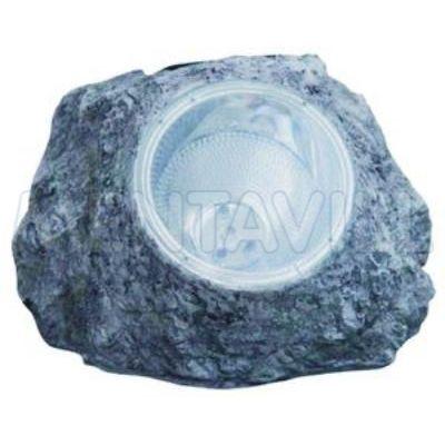 SOLAR kő műa. IP44, 2xLED 0,06W