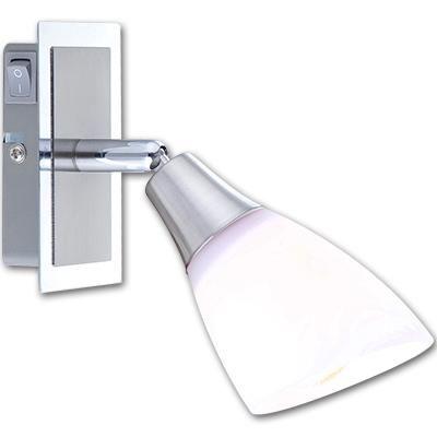 nikkel matt - króm váz, opál üveg búra,  HxSZxM::180x65x195, exkl. 1xE14 40W 230V, kapcsolóval