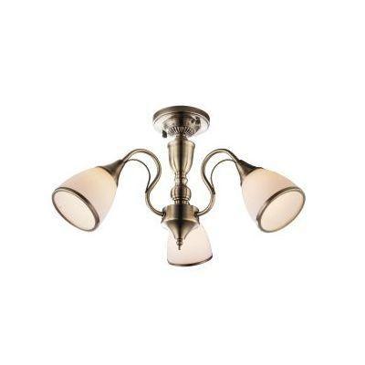 Mennyezeti 3xE14 60W bronz/opál