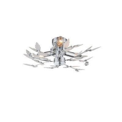 GLOBO 63100-3 Mennyezeti lámpa 3xE14 40W 230V müanyag/átlátszó