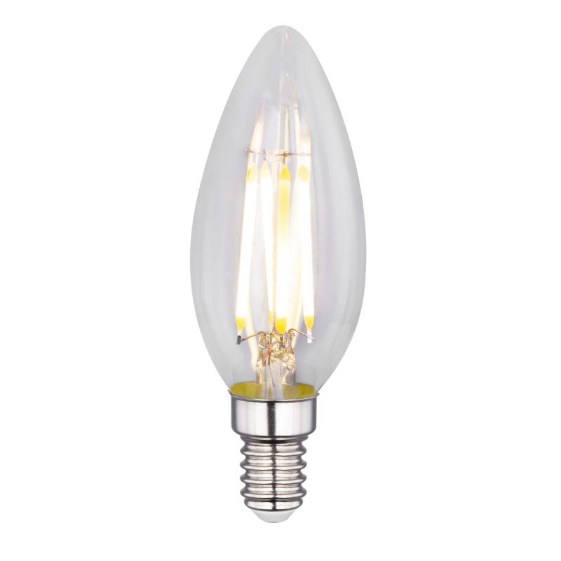 Fényforrás LED, D:35, H:98, inkl. 2xE14 LED 4W 230V, 400lm, 3000K,  2db/blister