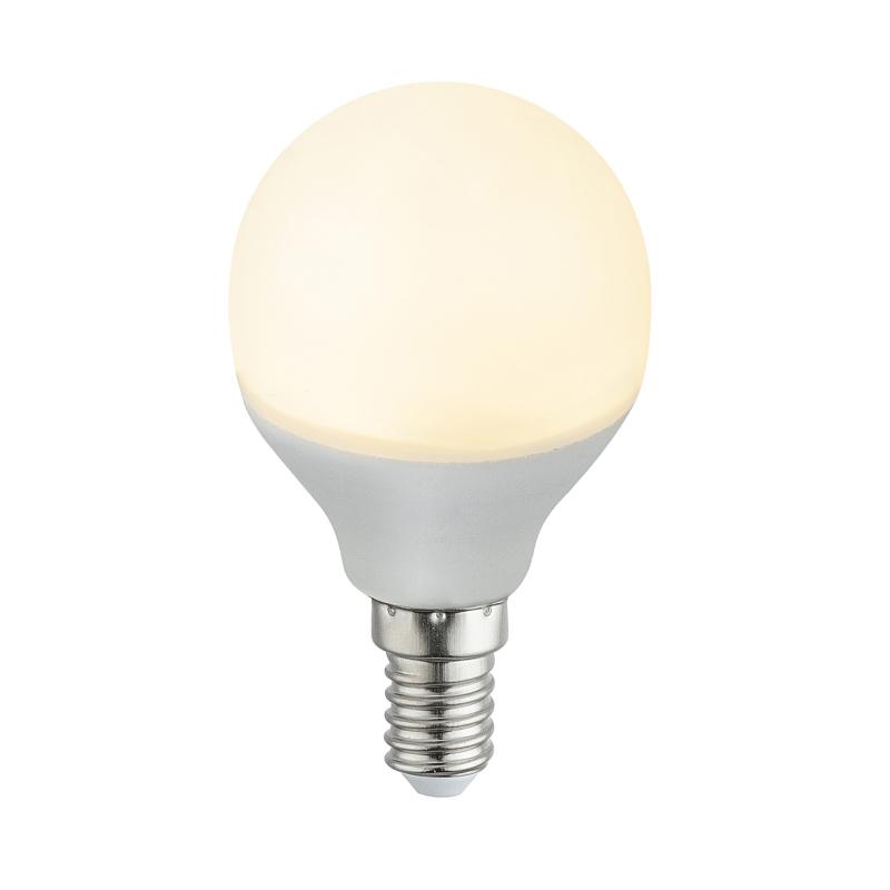 Fényforrás LED, D:45, H:79, inkl. 2xE14 LED 4W 230V, 400lm, 3000K,  2db/blister