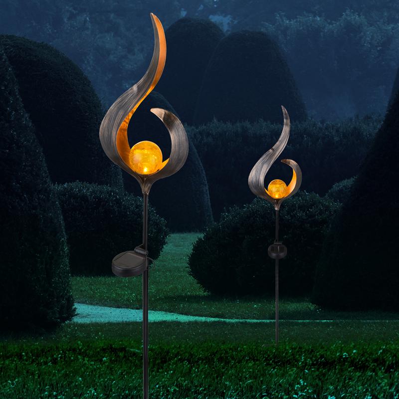 SOLAR fém dekor,0,06W LED,167×60×9*