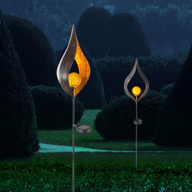 SOLAR fém dekor,0,06W LED,175×60×9*