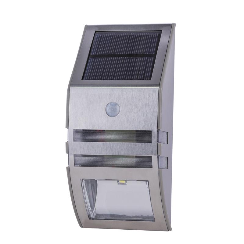 SOLAR fali lámpa,mozgásérzékelővel