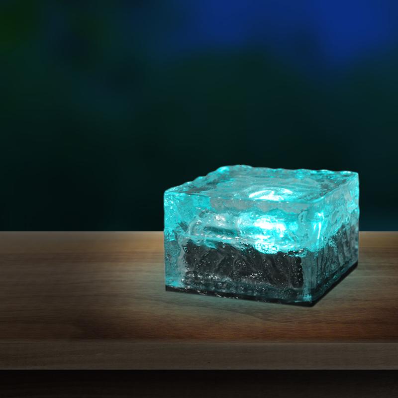 SOLAR jégkocka,LED 0,06W 4 színben*