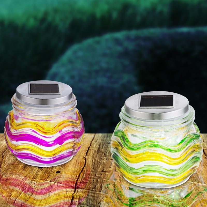 SOLAR vegyes színű üvegek. IP44, 1