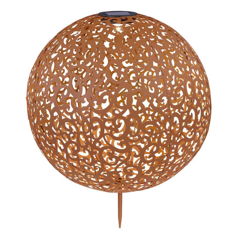 SOLAR leszúrható rusztikus gömb,IP*